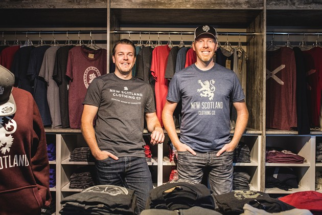 New Scotland Clothing Company's Scott and Kevin Saccary: brothers, curlers, entrepreneurs, CUA members.