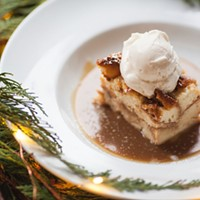 Christmas Egg  Nog Bread Pudding