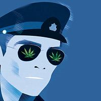 Canadian cannabis, American enforcement