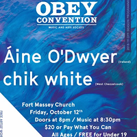 Áine O'Dwyer w/chik white