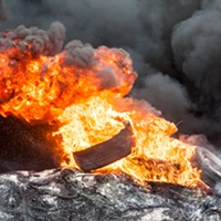 Nova Scotia approves tire burning just in time for the end of the world