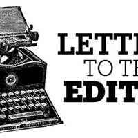 Letters to the editor, November 8, 2018
