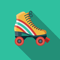 Coffin Skate's roller disco