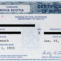 Nova Scotia makes changes for non-binary birth certificates