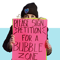 Pushing for a bubble zone law outside of Halifax's Women's Choice Clinic