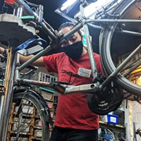 Bike Again's home up for sale