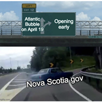 Nova Scotia's unrequited Atlantic bubble