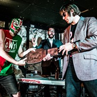 Watch this wrestling promo for GussleMania