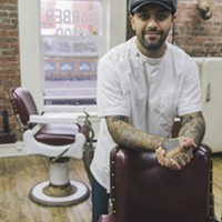 Noreaster Barber storms Argyle Street