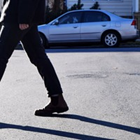 Outrage over the province's $697 jaywalking fine