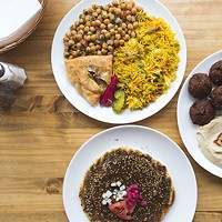 Dish of the month: Combo platter at Mid East Food Centre