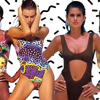 Shop this: 90s swimwear at Makenew