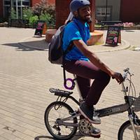 Someone stole Lindell Smith's bike