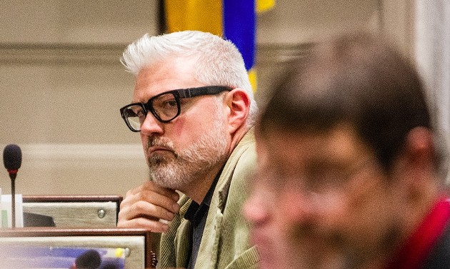 Councillor Shawn Cleary wants to let the sunshine in. - RILEY SMITH