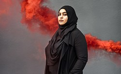 Masuma Khan from a Coast cover shoot in August. - MEGHAN TANSEY WHITTON