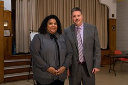Human Rights Commission senior legal counsel Kymberly Franklin and University of Toronto sociologist Scot Wortley. - IAN SELIG