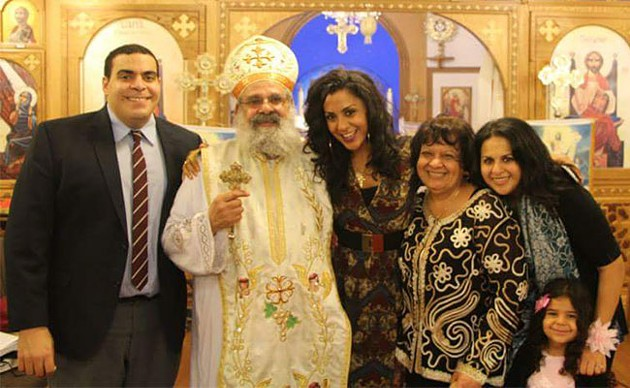 """It's not about receiving, it's about giving,"" says Verena Rizg of Coptic Christmas - SUBMITTED"