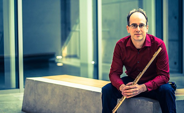 "Flutist and ""new music pioneer"" Paolo Bortolussi is part of this year's lineup. - SUBMITTED"
