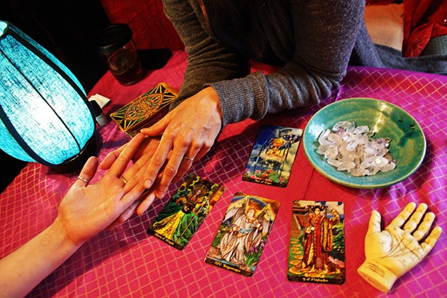 Tarot is one of the workshops that will be on offer at The Neighbourhood Witch after expansion. - KIMBER LUBBERTS