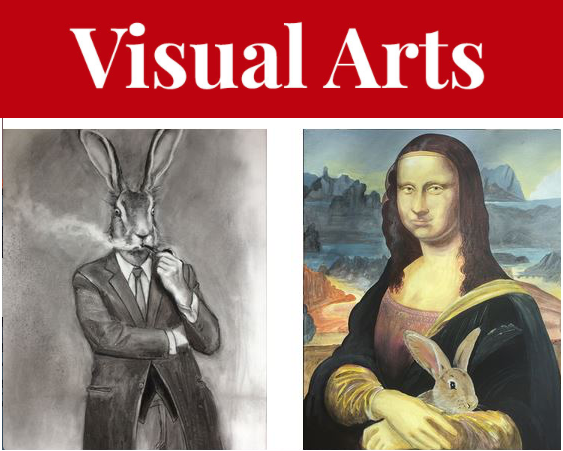 Bunny Love brings spring-y vibes to The Dart Gallery just in time for the Easter bunny's big scene. - SUBMITTED ARTWORK