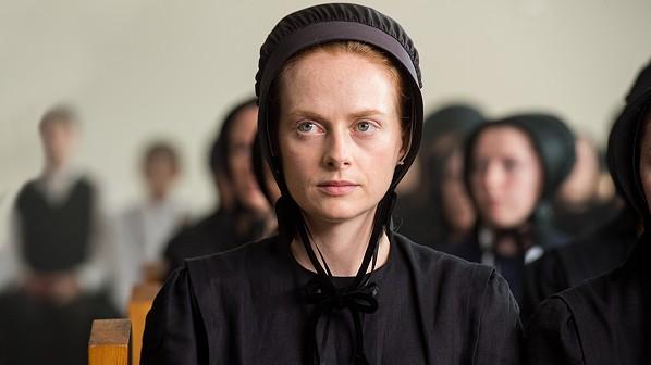 Alex Paxton-Beesley as Anna Funk. - CBC