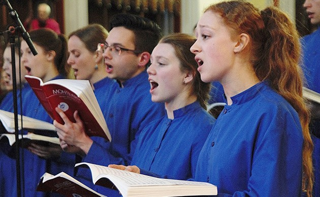 The Chapel Choir takes on Monteverdi for a second time this Sunday. - SUBMITTED