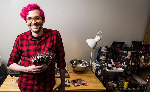 Gallant will bring his bars to the Halifax Crafters market this weekend. - RACHEL MCGRATH