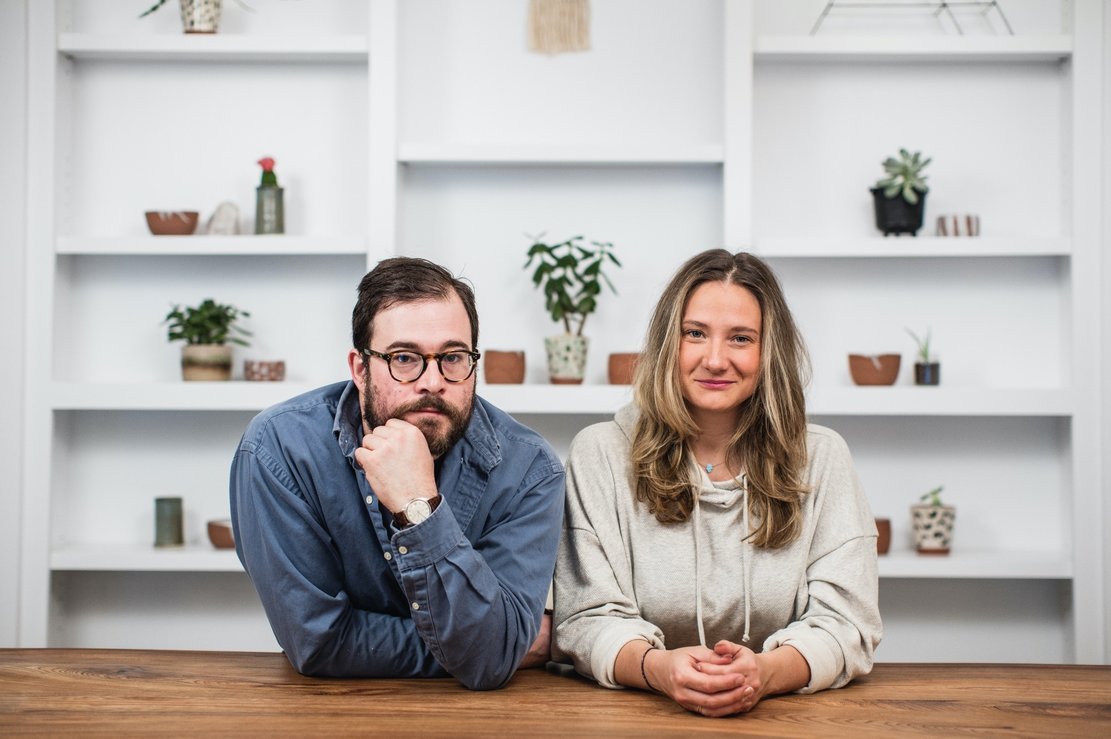 Anna Gilkerson and her partner Zac from Makenew Curated Thrift & Unique Essentials