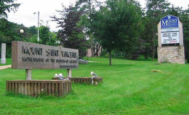 Mount Saint Vincent University's campus. - VIA WIKIPEDIA