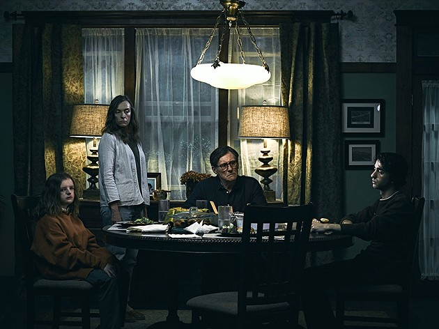 Milly Shapiro, Toni Colette, Gabriel Byrne and Alex Wolff play a family whose troubles just don't end. - A24 FILMS
