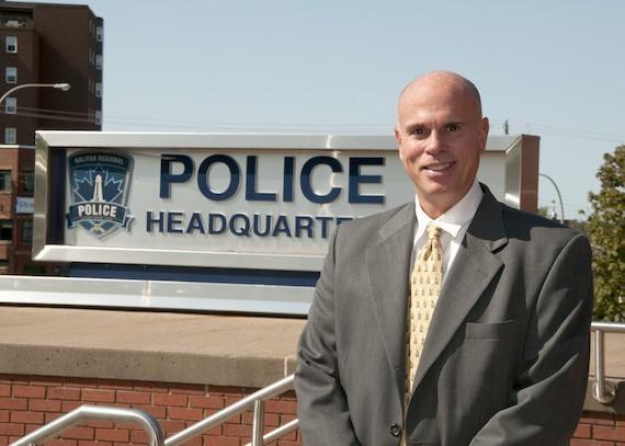 The outgoing Halifax Regional Police chief Jean-Michel Blais.