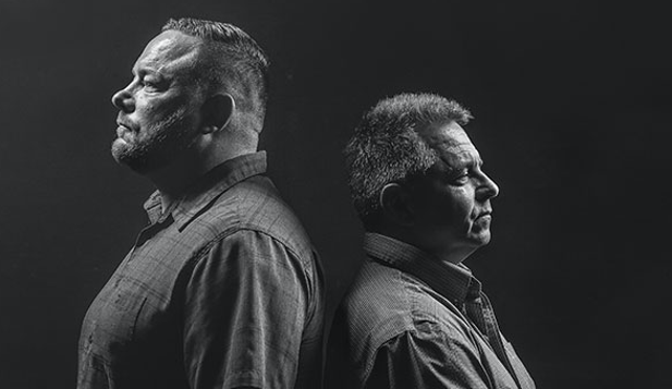 Pete Brown and Steve Deveau just want to find work. - PHOTOS MEGHAN TANSEY WHITTON