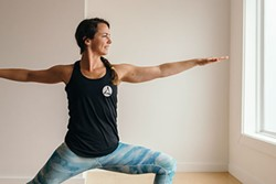 Moksha's Best of Halifax winning yoga instructor, Kelly Wadden - ALEXA CUDE