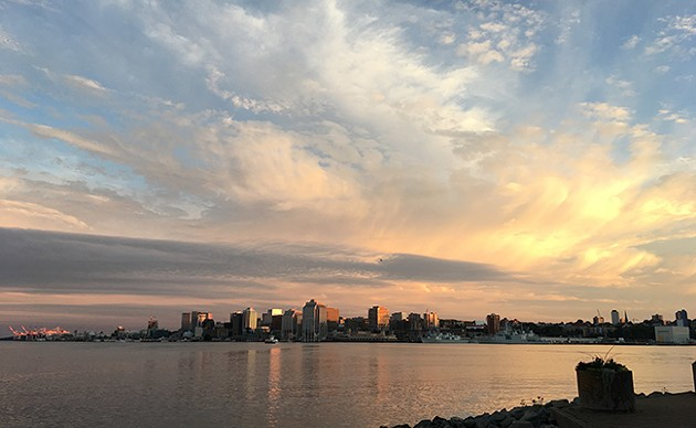 Halifax Skyline via ferry will leave you #breathless. - SUBMITTED
