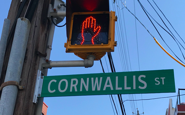 Could this soon be changed to Rocky Jones Street? - THE COAST