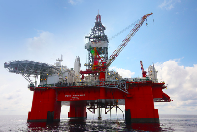 BP's massive oil platform is currently performing exploratory drilling off Nova Scotian waters. - VIA BP CANADA