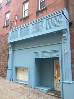 The soon-to-be home of Flower Child, a kid's boutique