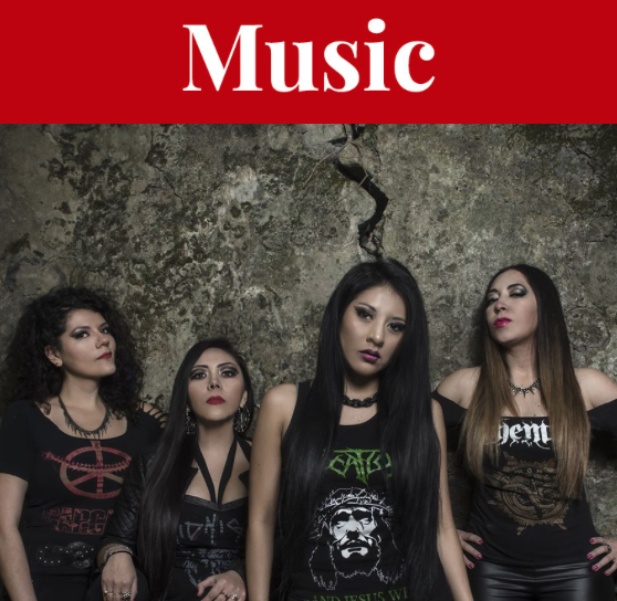 Mexico City death metal outfit Introtyl arrives at Gus' Pub Thursday. - FACEBOOK SCREENSHOT