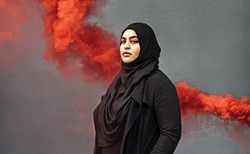 Masuma Khan is an Afghan woman who is a second-generation settler on Mi'kmaq territory. She is the vice president academic and external for her second term at the DSU, and in her final year of international development and history at Dalhousie. - MEGHAN TANSEY WHITTON