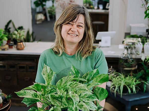 Audrey Flanders, plant expert - RACHEL MCGRATH
