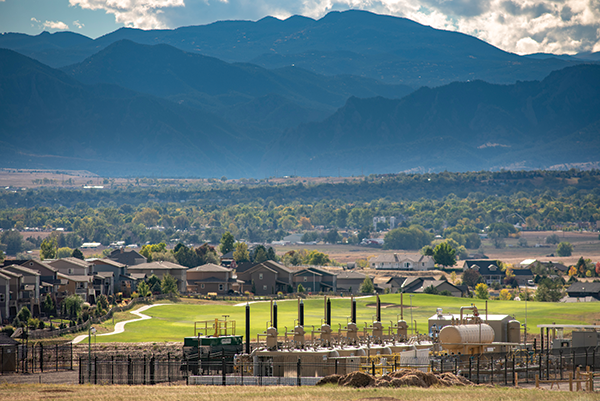 Fracking operations disrupted life so much in Erie, Colorado, residents started calling it Eerie. - TED WOOD / THE STORY GROUP