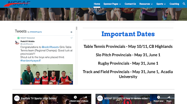 Six hours (and counting) after the NSSAF board's announcement, the NSSAF website still says rugby is on.