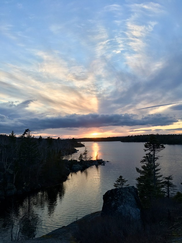 Susies Lake = paradise - LAURA HAWKINS
