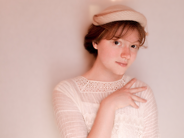 Ella MacDonald as Carrie Stettheimer. - JULIA SCHULTZ