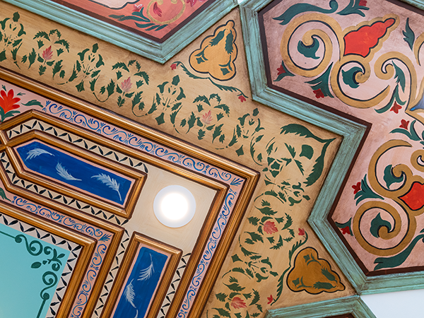 Booza Emessa's Syrian decor touches are inspired by Aljokhadar.'s grandfather's house in Homs. - IAN SELIG