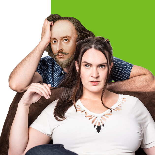 Gillian English returns to Nova Scotia with a mash-up of Shakespeare and Y2K coming-of-age movies in 10 Things I Hate About Taming The Shrew, a Hot Ticket Award winner. - DAHLIA KATZ PHOTO