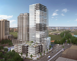 A rendering of the proposed Willow Tree development. - VIA HRM
