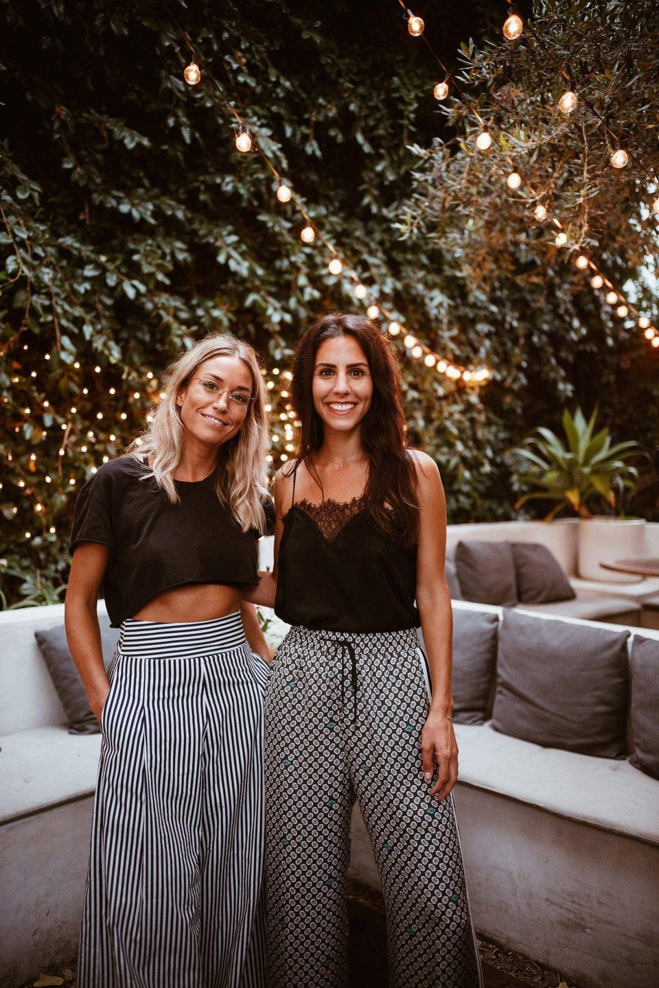 Anna Duckworth (left) and Kate Miller's Miss Grass aims to embrace and demystify cannabis. - SUBMITTED