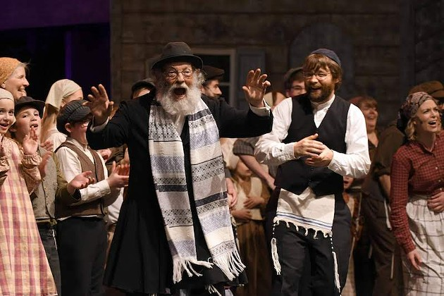 Fiddler on the Roof is one of the most ambitious musicals out there, but St. Joseph's Stage Prophets Theatre Company isn't letting that stand in the way. - PETER OLESKEVICH PHOTO