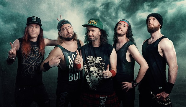 If Will Turner from Pirates of the Caribbean was transplanted to the 21st century and took up music, he'd probably join Alestorm. - ROBERT ZEMBRZYCKI PHOTO